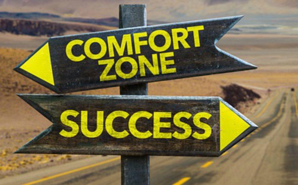 Comfortzone paradox