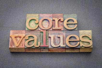 Bedrijfswaarden voorbeelden