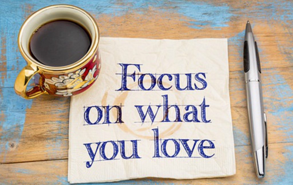 Formuleer een inspirerende visie en levensplan.
