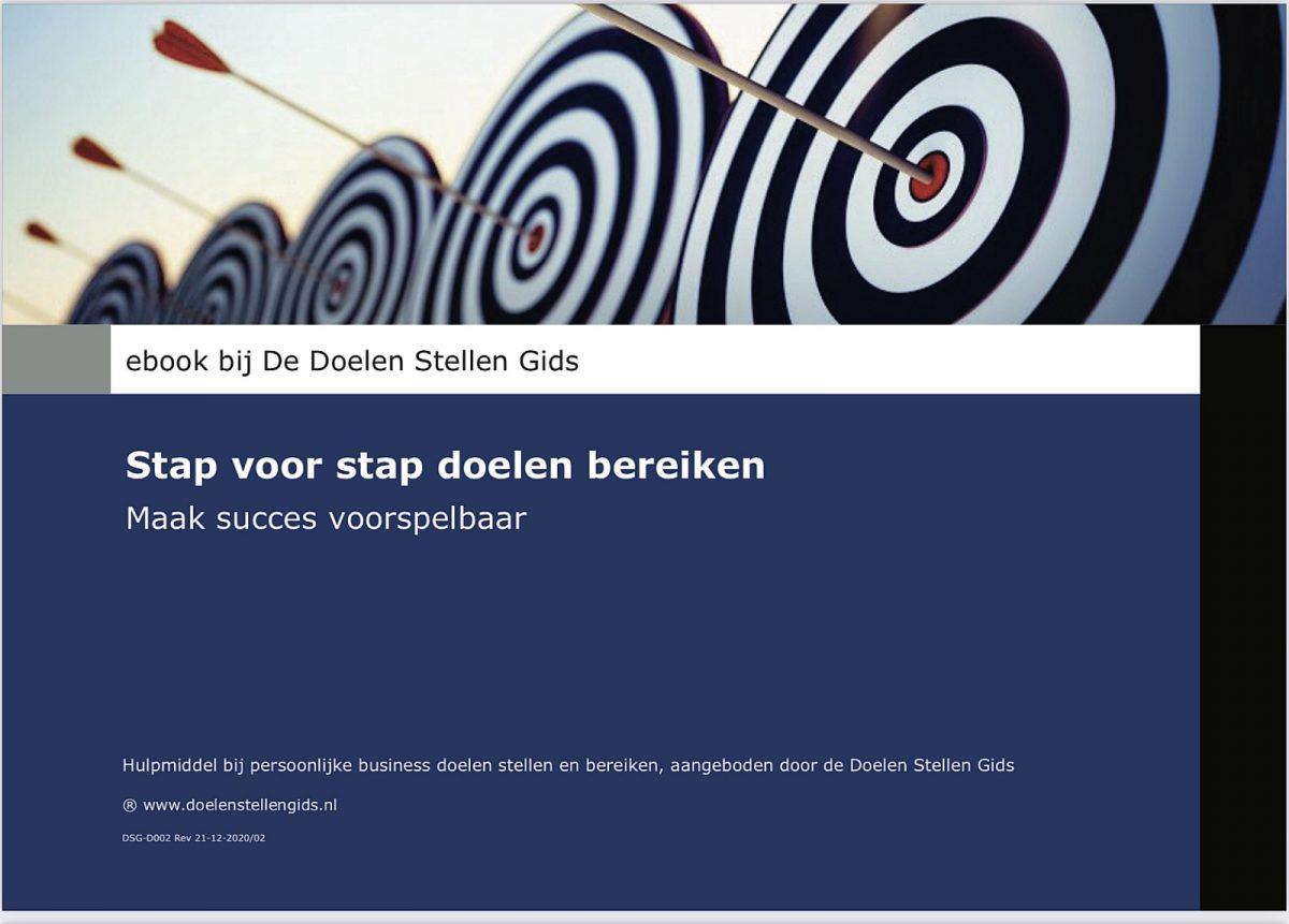 ebook 2021 doelen stellen gids